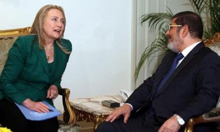 هيلارى كلينتون : مرسي كان ساذجا ولم يكن مؤهلا لحكم مصر