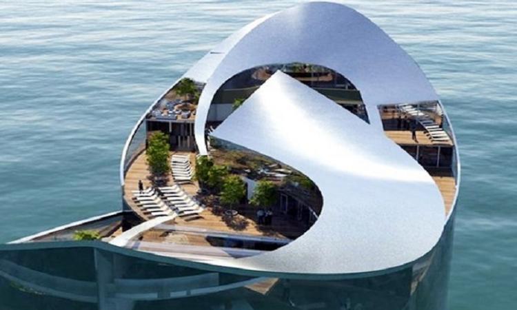بناء أكبر فندق عائم في أوروبا في شمال النرويج