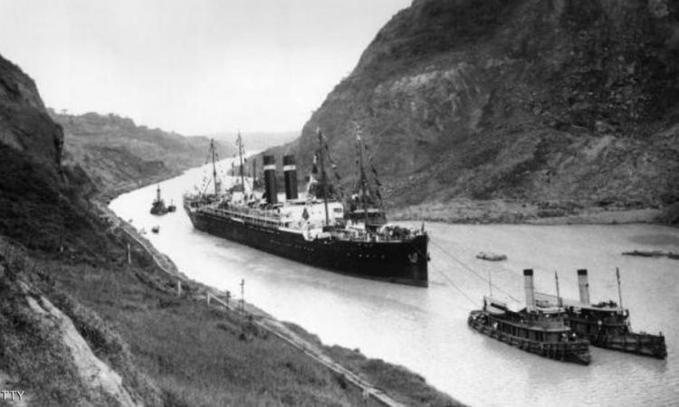 العالم يحتفل بمرور مائة عام علي حفر قناة بنما