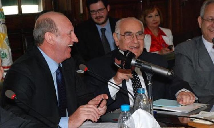 بالصور .. وزير الزراعة يستقبل نظيره البرازيلي لنقل التجربة البرازيلية الي مصر