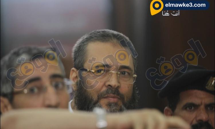 بالصور جلسة محاكمة عبدالله بركات عميد كلية الدعوة الإسلامية في قطع طريق قليوب