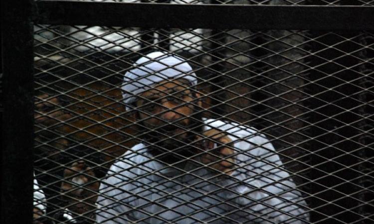 الحبس سنتين مع الشغل لعادل حبارة ومتهم آخر لإهانة ممثل النيابة