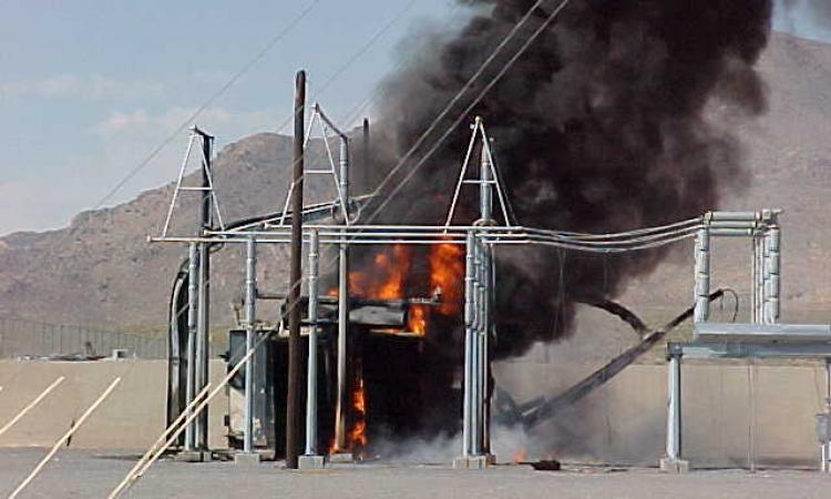 عناصر أرهابية تستهدف محولات الكهرباء بالمحافظات