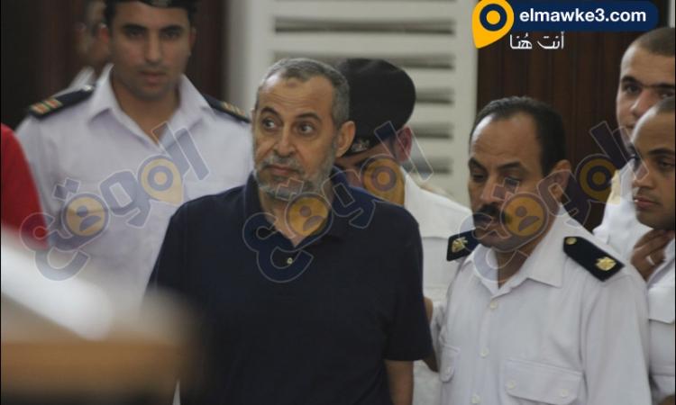 بالصور.. جلسة محاكمة محسن راضي في أحداث قسم بنها