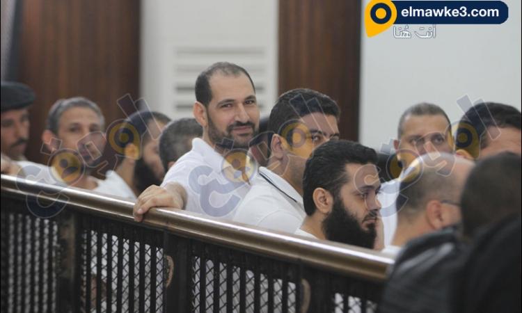 بالفيديو محاكمة المتهمين في أحداث كفر الشيخ الجزء1