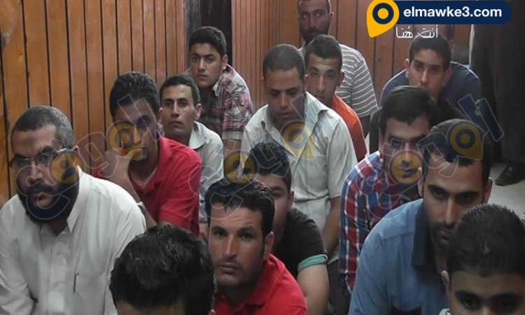 """بدأ تحقيقات موسعة مع 34 أخوانى فى شغب """"ذكرى رابعة """""""