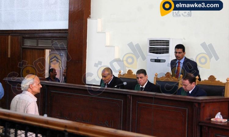 """بالصور.. جلسة محاكمة حبارة في قضية """"مذبحة رفح الثانية"""""""