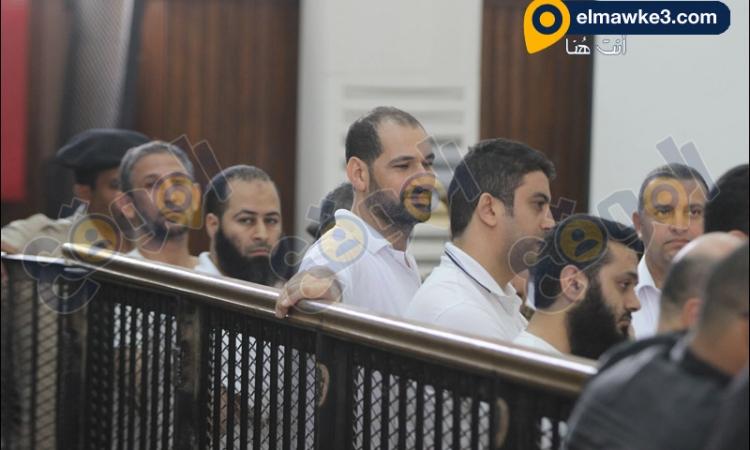 بالفيديو محاكمة المتهمين في أحداث كفر الشيخ الجزء 2
