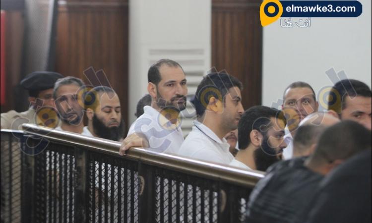 بالصور.. جلسة الأستماع للمتهمين في قضية أحداث كفر الشيخ