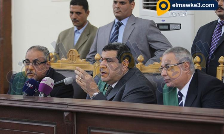 بالصور.. محاكمة المتهمين في قضية خلية السويس