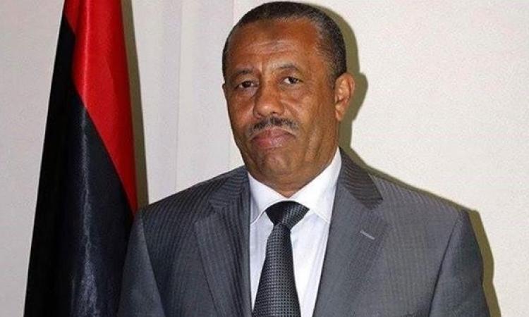رئيس الوزراء الليبى يطالب بتدخل قوات عربية ودولية فى بلاده