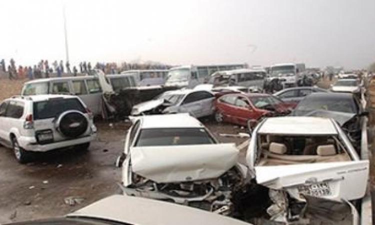 9 قتلى و4 مصابين في تصادم على طريق الاسكندرية الصحراوى