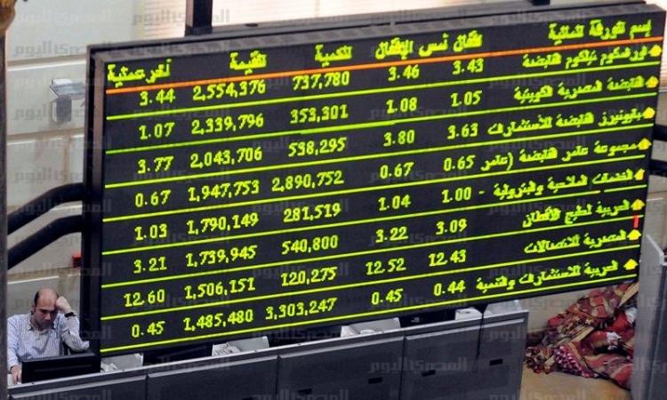 البورصة المصرية تربح 2.9 مليار جنيه وترتفع للجلسة الخامسة على التوالي