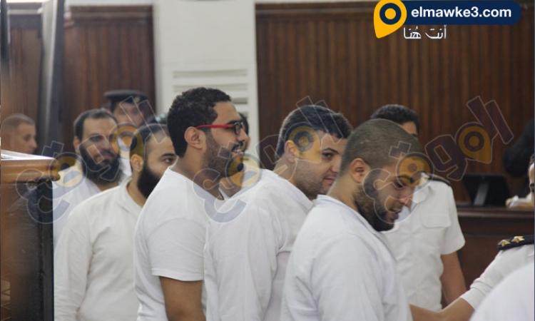 بالصور .. جلسة محاكمة قضية أحداث شبرا