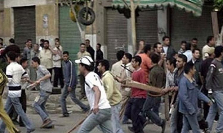 إصابة 6 و القبض على 5 أخرين فى مشاجرة بشبرا الخيمة ..