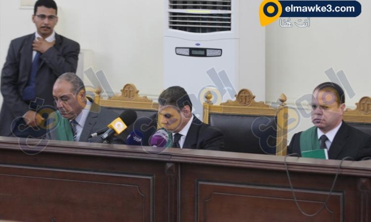 """بالصور… جلسة سماع شهود محاكمة حبارة و34 آخرين في """"مذبحة رفح الثانية"""""""