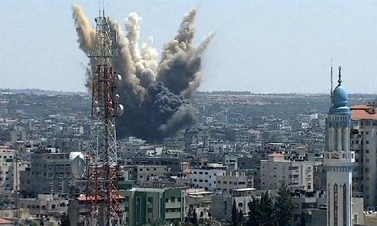 طائرات الاحتلال تدمر برجا سكنيا من ستة طوابق وسط رفح