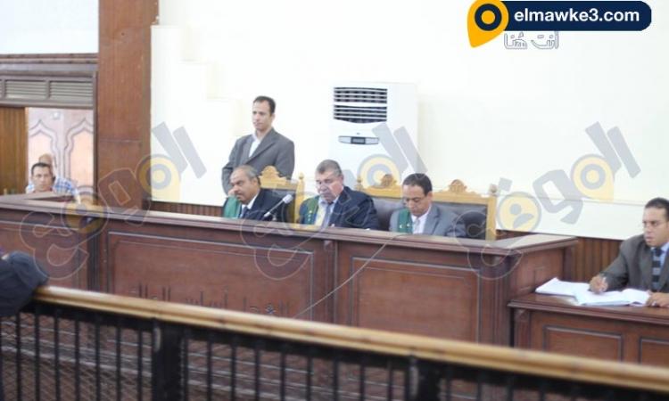 بالصور .. محاكمة المتهمين في احداث شبرا