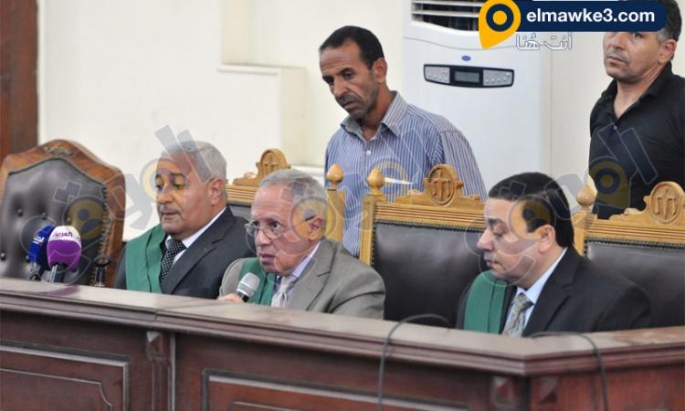 بالصور .. جلسة محاكمة أحداث مكتب الأرشاد