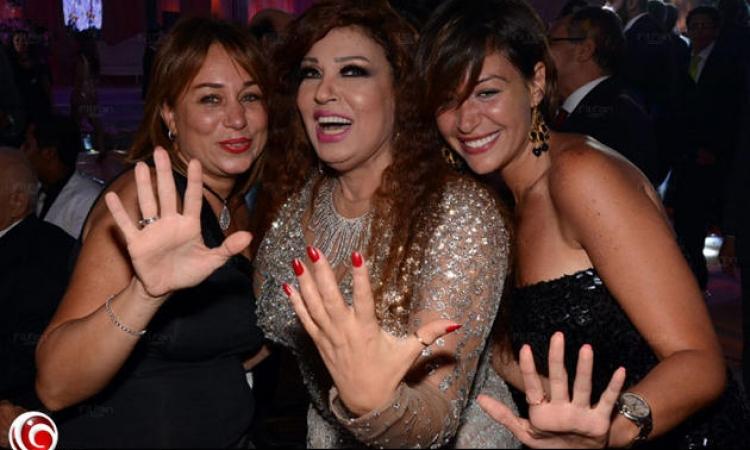 بالصور… نجوم ومشاهير في زفاف ابنة فيفي عبده