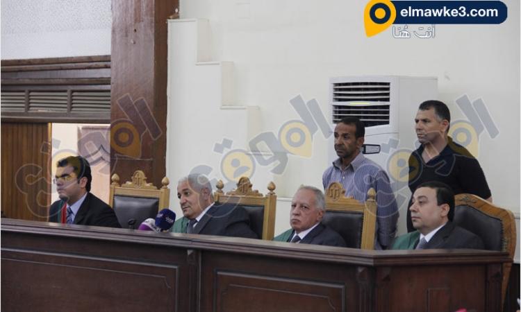 بالصور .. جلسة الحكم في قضية خلية أكتوبر