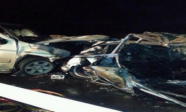 حادث أمام مستشفى عين شمس يؤدى إلى مصرع 4 وإصابة 6