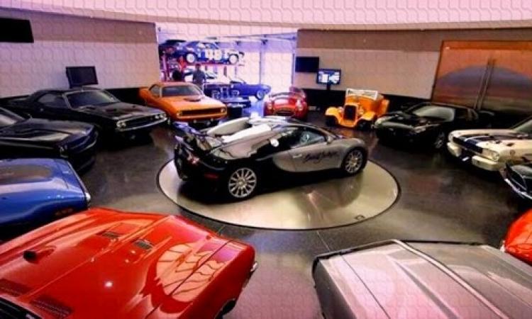 بالصور .. شاهد أفخم جراجات السيارات لاغنياء العالم