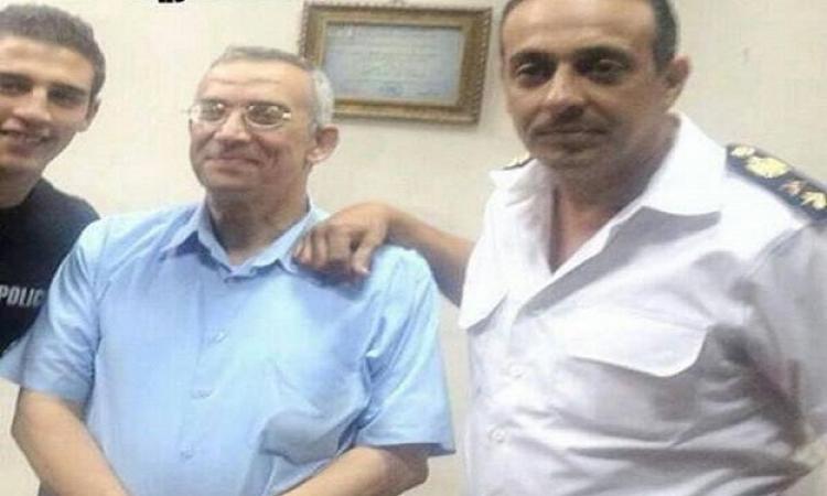 القبض على ابنة حسن البرنس أثناء زيارته بسجن برج العرب