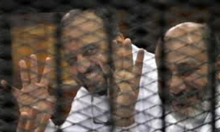 استئناف محاكمة البلتاجي وحجازي في قضية تعذيب ضابط رابعة