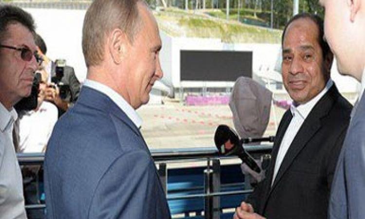 بوتين:روسيا ستزيد أمدادات القمح لمصر وتدرس منطقة للتجارة الحرة