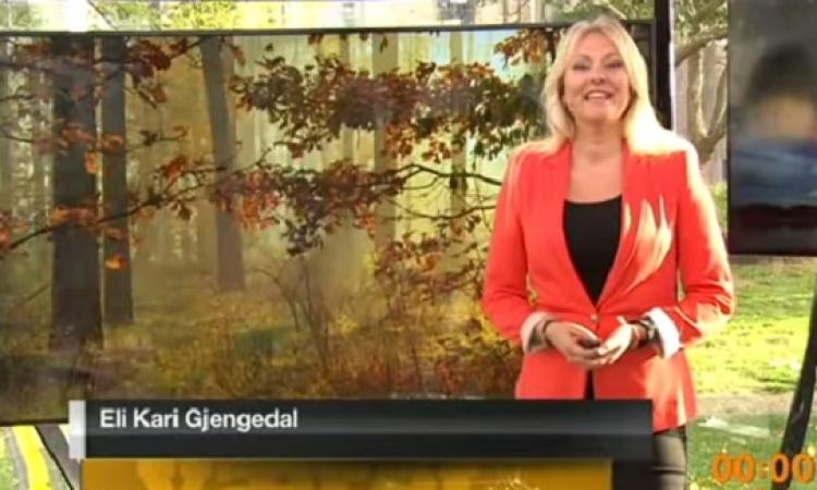 بالفيديو .. مذيعة نرويجية تقدم نشرة جوية مدتها 33 ساعة !!