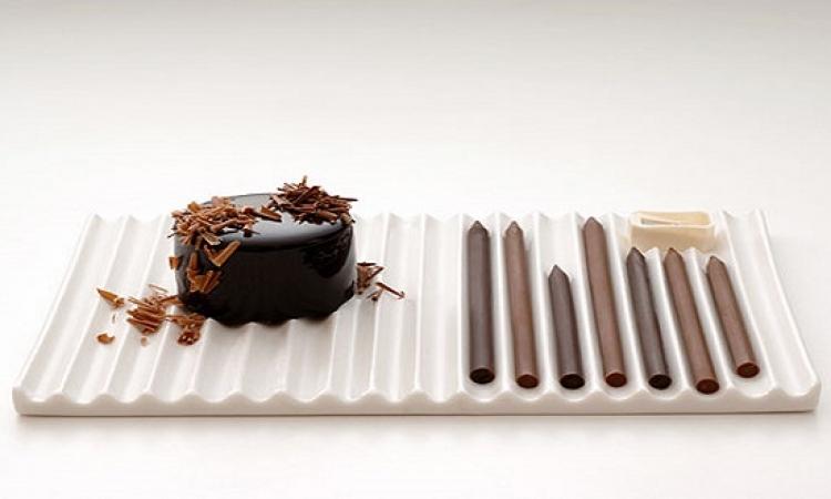 بالصور .. أشكال مدهشة ومذهلة من الشيكولاتة