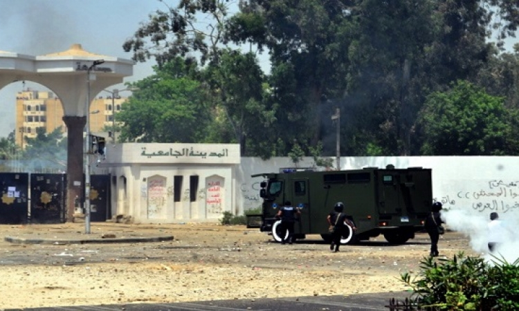 الحبس 5 سنوات  لـ9 طلاب اخوان فى اشتباكات المدينة الجامعية