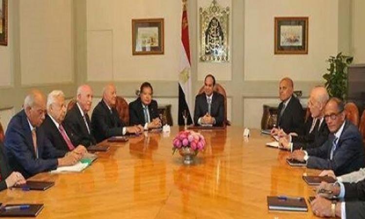 بالصور .. السيسي يصدر قرارًا جمهوريًا بتشكيل مجلس استشاري من كبار علماء وخبراء مصر