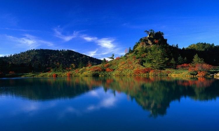 شاهد امتزاج سحر الأزرق مع روعة الطبيعة الخلابة
