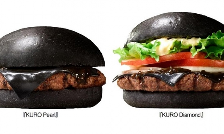 بعد 6 أيام .. Burger King تطرح ساندوتش برجر كل مكوناته سوداء !!