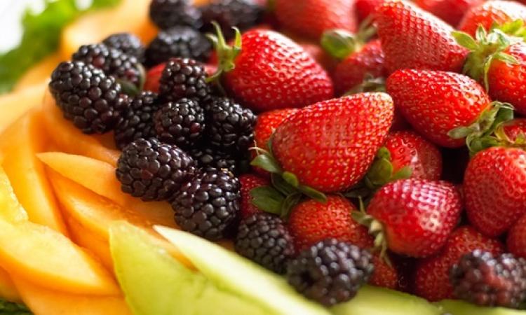 فاكهة الربيع تعطى قواما مثاليا