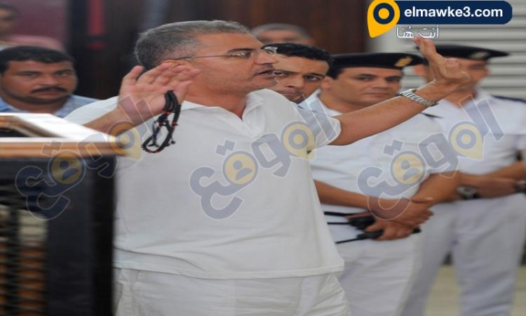بالصور.. جلسة محاكمة سلطان بقضية سب وقذف المستشار أحمد الزند