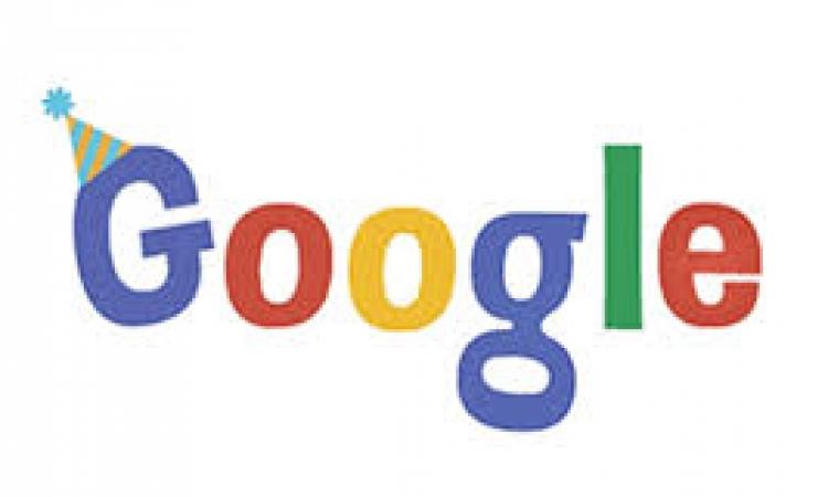 جوجل يحتفل بعيد ميلاده السادس عشر