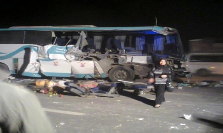 وفاة شخصين وإصابة 20 بينهم 18سائحًا روسيًّا في حادث تصادم بالبحر الأحمر