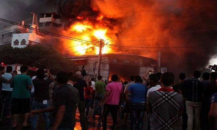 انفجار محول كهرباء بسبب ارتفاع درجة الحرارة ببورسعيد