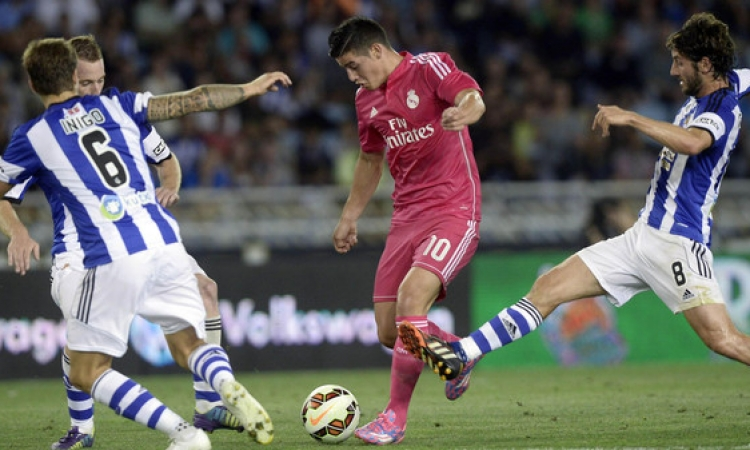 بالفيديو .. ريال سوسيداد يلقن بطل أوروبا درسا قاسيا