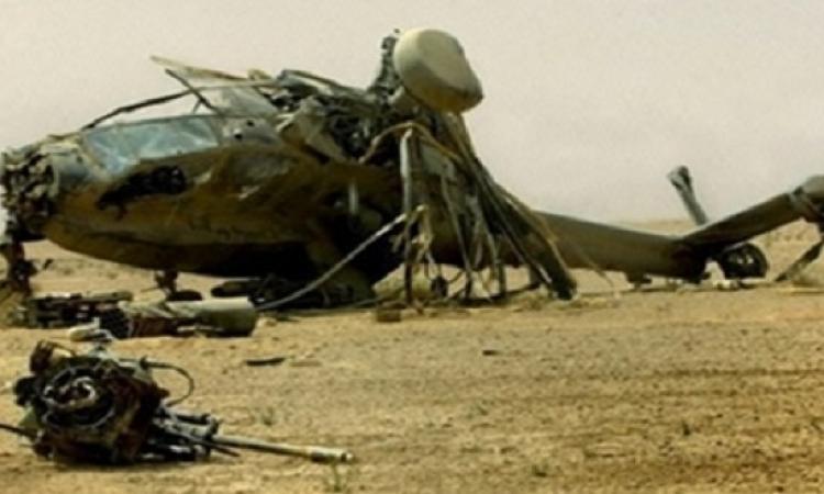 المتحدث العسكري : استشهاد 6 فى سقوط طائرة عسكرية بالفيوم