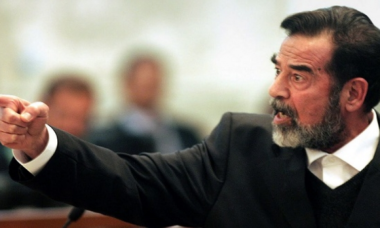 صورة نادرة لوالدة صدام حسين .. الست صبحه !!