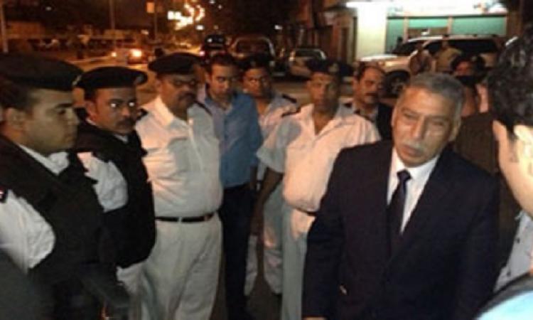 جولة مفاجأة فجرا لمدير أمن القاهرة يتفقد تأمين وسط العاصمة