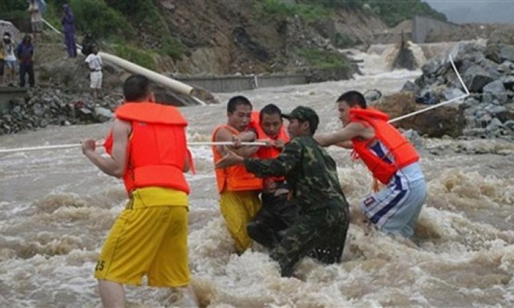 19 قتيلا جراء الامطار والفيضانات جنوب غرب الصين