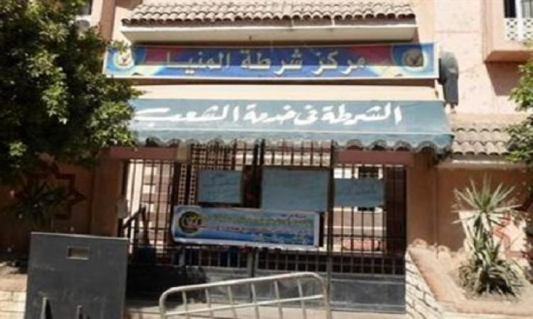 انفجار قنبلة أمام قسم شرطة المنيا