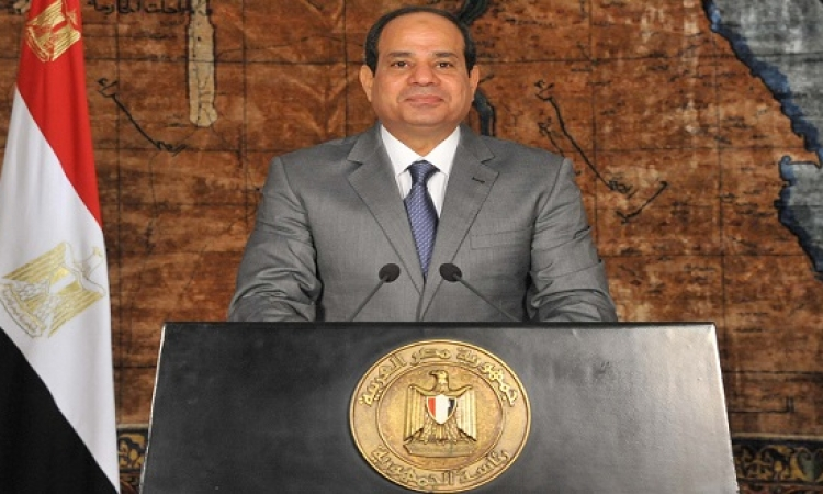 استطلاع بصيرة : 82 % من المصريين سعداء بأداء الرئيس السيسي بعد 100 يوم