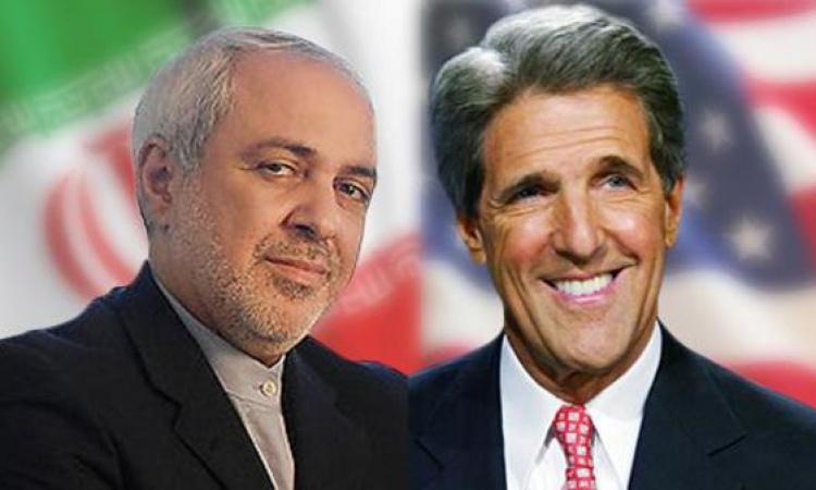 كيري وظريف يبحثان الملف النووي الإيراني