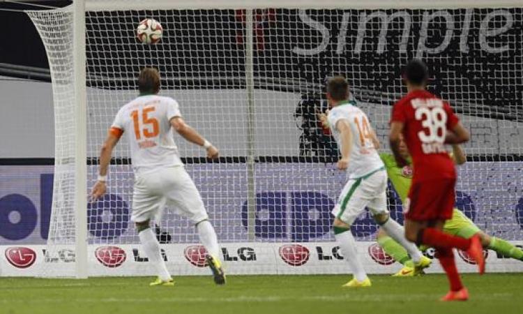 مباراة مجنونة تحفظ لليفركوزن الصدارة فى الدوري الألماني